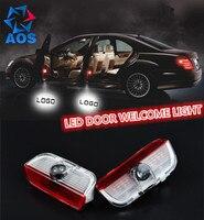 Auto LED Deur Welkom Licht Aantrekkelijke Logo Shadow Licht VOOR VW Passat B6 B7 CC Golf 6 7 Tiguan Scirocco
