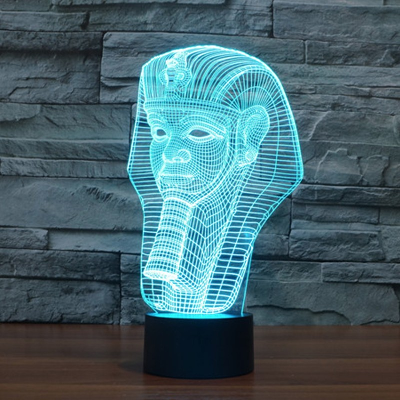 7-color-Holiday-Atmosphere-Decorative-Kids-gift-Pharaoh-Style-3D-Ilusion-LED-Night-Light (4)
