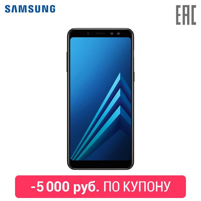 Купить со скидкой Смартфон Samsung Galaxy A8 2018 [Официальная гарантия 1 год. Доставка от 2 дней]