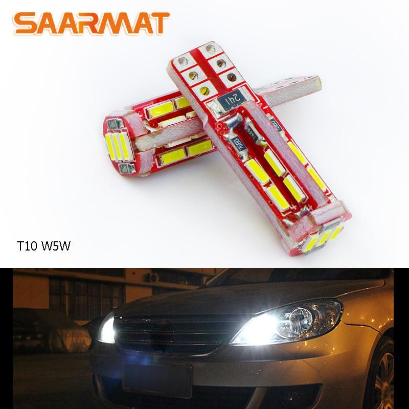 2x T10 W5W лампы светодиодные автомобиля Габаритные огни лампы сбоку Автомобильные стояночные огни для VW Гольф 5 6 Мужские поло Jetta Бора <font><b>Passat</b></font> 3C CC <font><b>b7</b></font> &#8230;