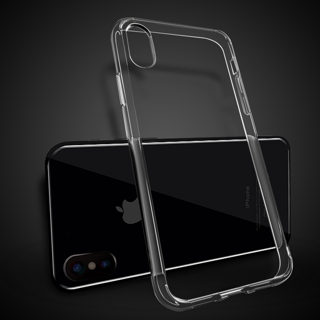 custodia trasparente per iphone 8