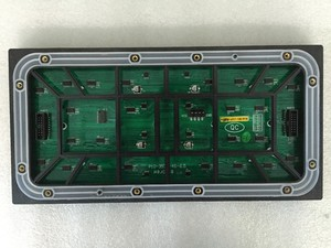 Image 3 - Açık 320*160mm 32*16 piksel 3in1 SMD 1/4 tarama RGB P10 tam renkli LED modülü reklam medya LED Ekran