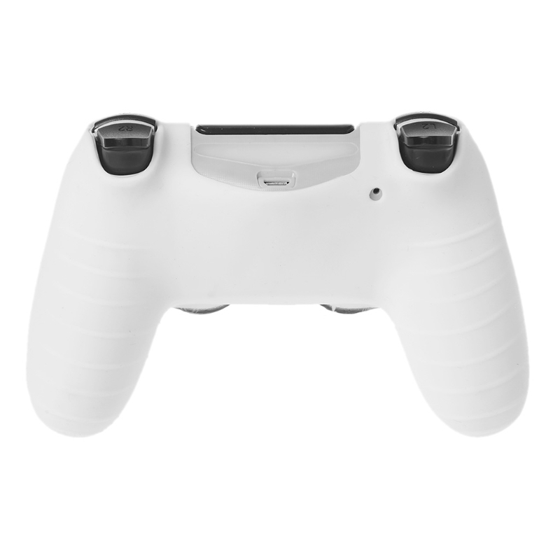 Image 4 - Gamepad Controller Silicone Sleeve Guard Protective Cover + 2 Grip Caps For PS4-in Replacement Parts & Accessories from Consumer Electronics