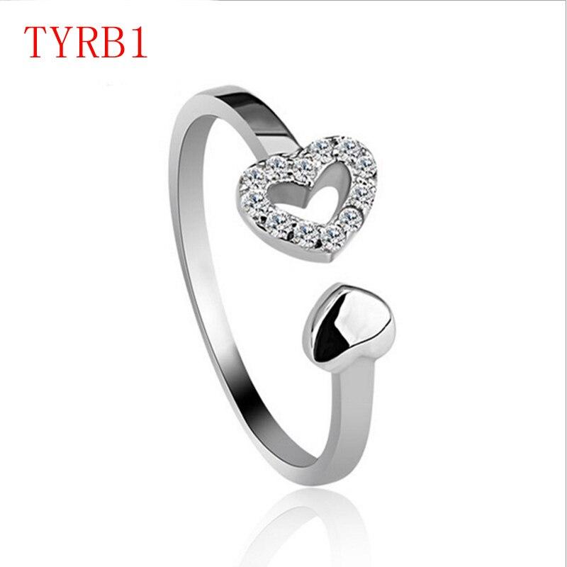 TYRB1 Мода ювелирные кольца для пары Женские Подарочные