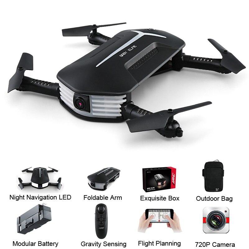 JJRC JJR/C/H37 Mini bebé Elfie Selfie 720 P WIFI FPV con la altitud modo sin cabeza plegable RC drone Quadcopter RTF