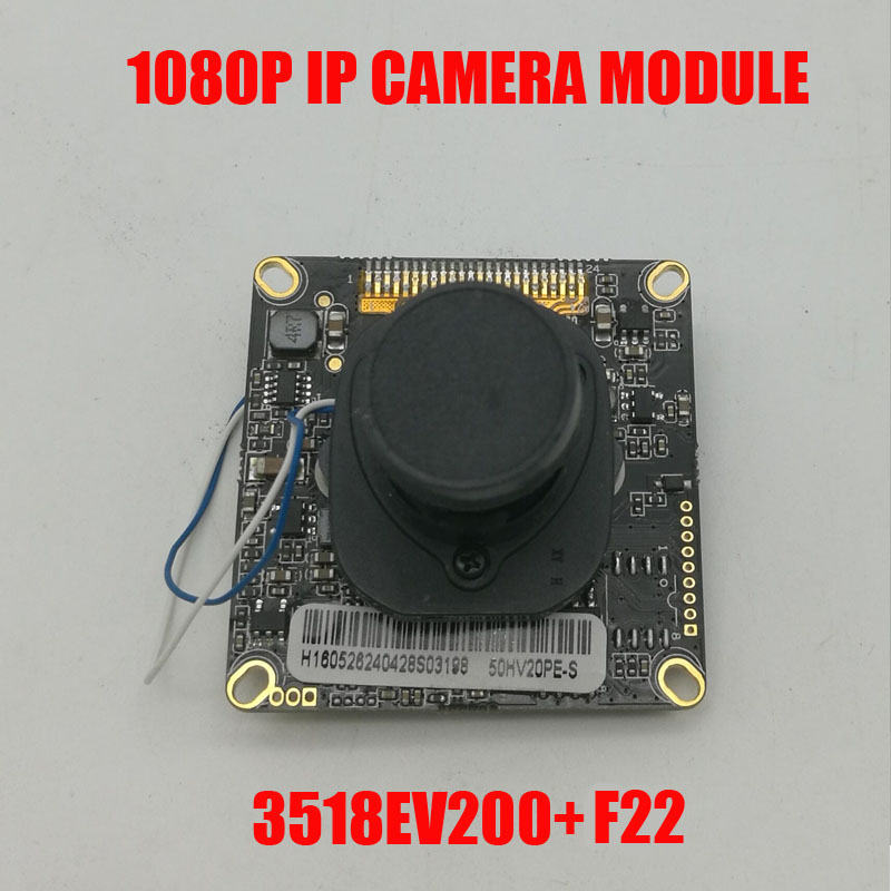 Free shipping DIY HD IP Camera Module 1080P 3518EV200+F22 2MP CMOS IP camera board include 3.6mm ir cut cable Camera Module aravia professional маска альгинатная с чайным деревом и миоксинолом myo lifting 550 мл