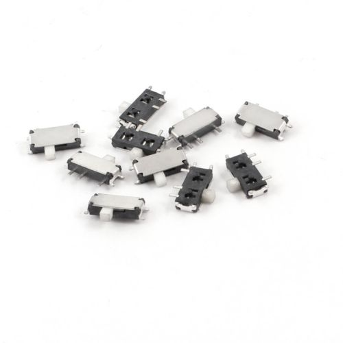 10PCS Slide Power Off/On Panel PCB MINI SMD Switch,SPM