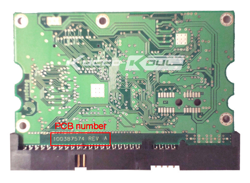 hard drive parts PCB logic board printed circuit board 100387574 for Seagate 3.5 IDE/PATA hdd data recovery hard drive repair