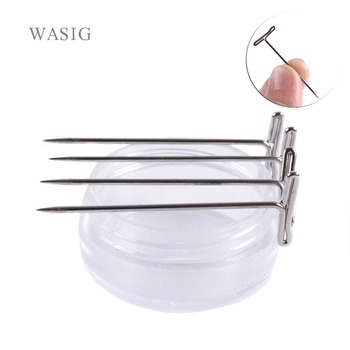 100 pcs T-PINS (45 mm) For making wig pins  T Pin Needle Mannequin Head tools accessories - sale item Hair Tools & Accessories