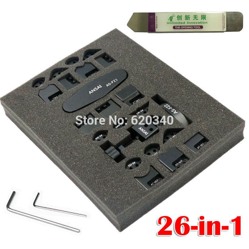 26 In 1 GTool ICorner GB1100 For IPhone 5 5S 6 Plus IPad 2 3 4 Mini IPod 4 Corner Sidewall Bend Fix Repair Tool