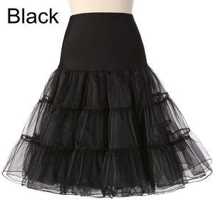 Image 4 - Короткая юбка из органзы для Хэллоуина, кринолин, винтажная Свадебная Нижняя юбка для свадебных платьев, юбка пачка рокабилли