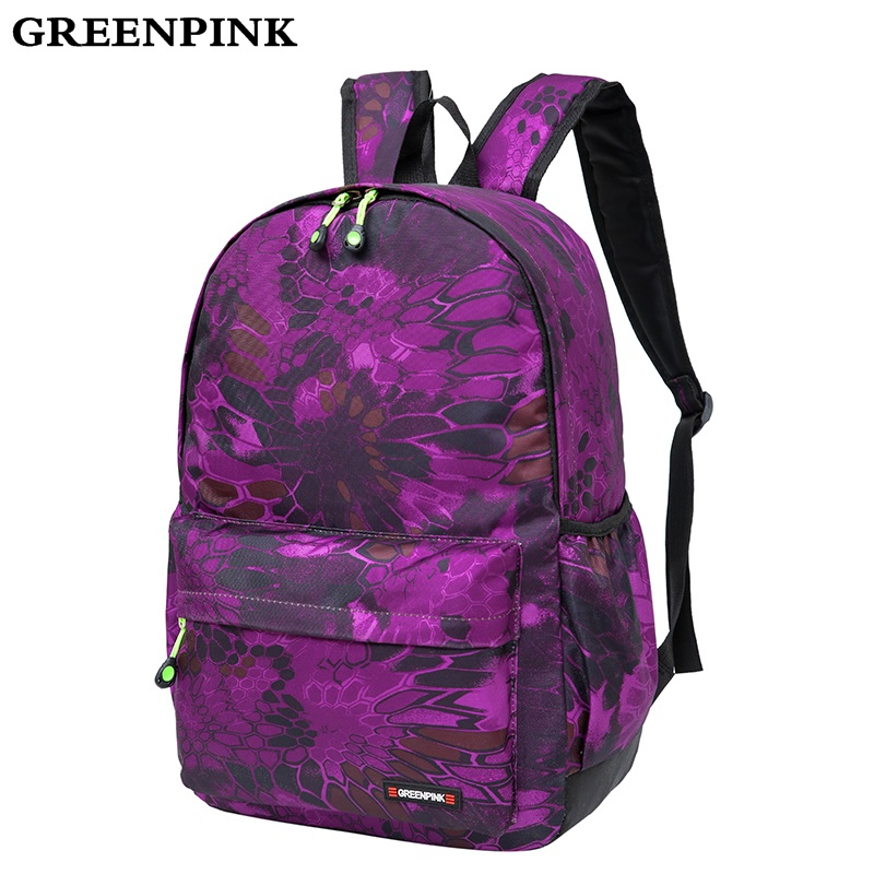 GREENPINK Brand Printing Backpack Women Bag School Bags for Teenage Girls Cute Rucksack Vintage Travel Laptop Backpacks Female все цены