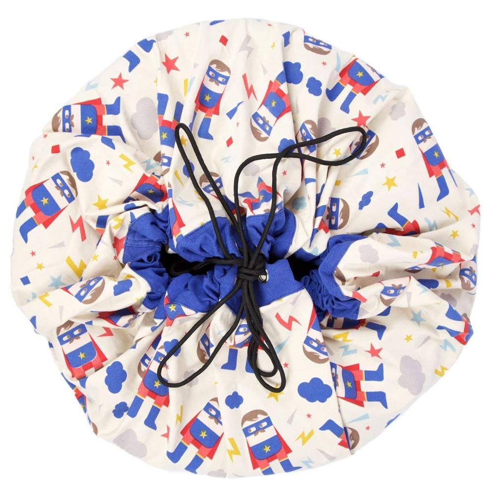 4 стиля INS модели Футбол бадминтон якорь Фламинго большие сумки для хранения игрушек мешок можно использовать как ковер подвесной мешок - Цвет: Hero