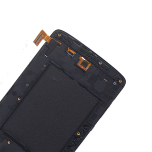 Image 3 - العلامة التجارية الجديدة ل LG K8 LTE K350 K350N K350E K350DS شاشة الكريستال السائل مجموعة المحولات الرقمية لشاشة تعمل بلمس استبدال مع الإطار طقم تصليح