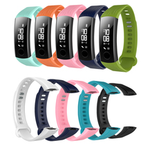 TPE Sports activities Wrist Band Strap Bracelet for Huawei Honor Band Three Good Health Tracker Wristband Watch Band & Instruments Equipment