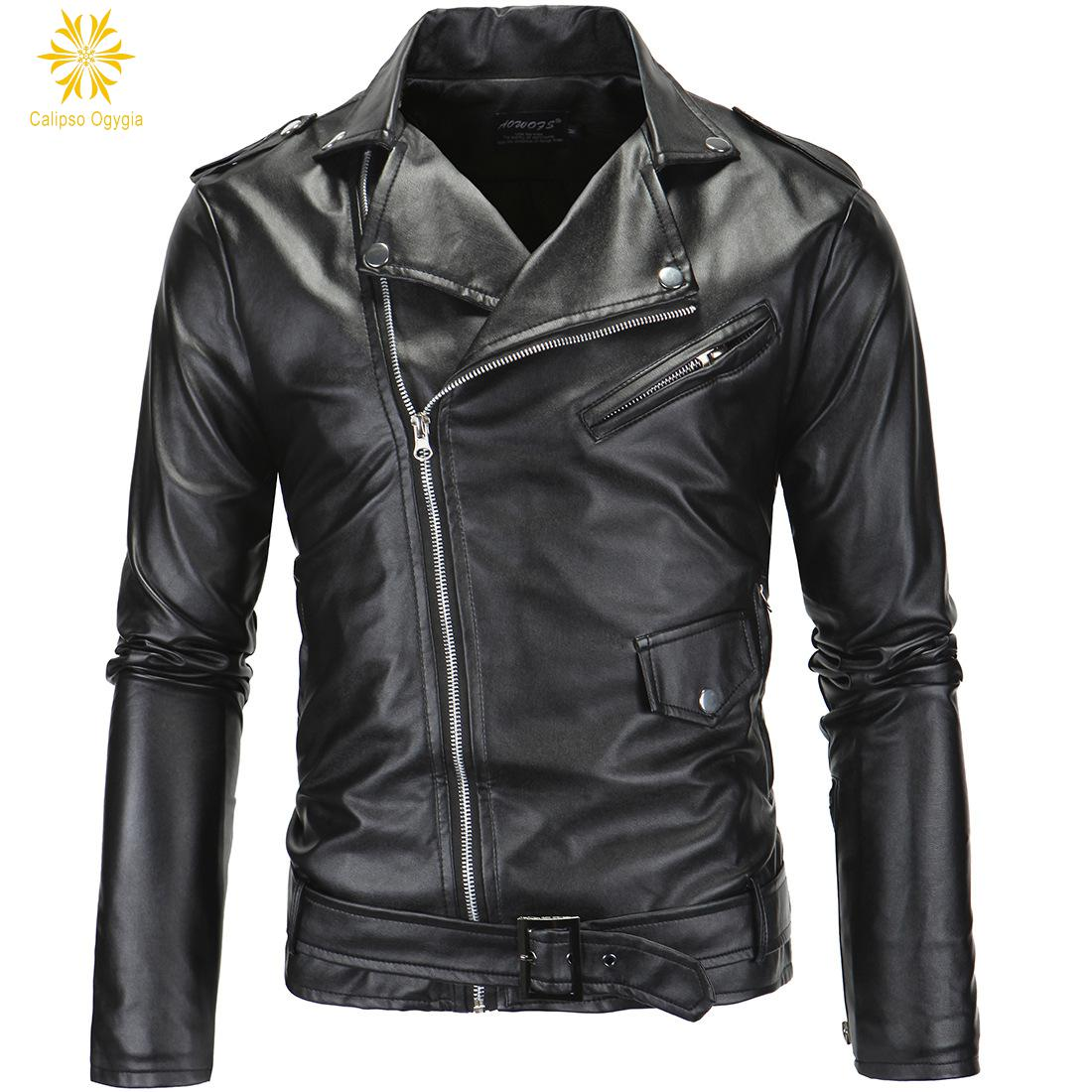 popular mens black leather trench coat buy cheap mens black leather trench coat lots from china. Black Bedroom Furniture Sets. Home Design Ideas