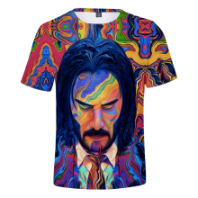 2019 The Film 3D John Wick Men/Women t shirt Fashion 3 Print tshirt Hot Summer Short sleeve Hip Hop Men Top 4XL