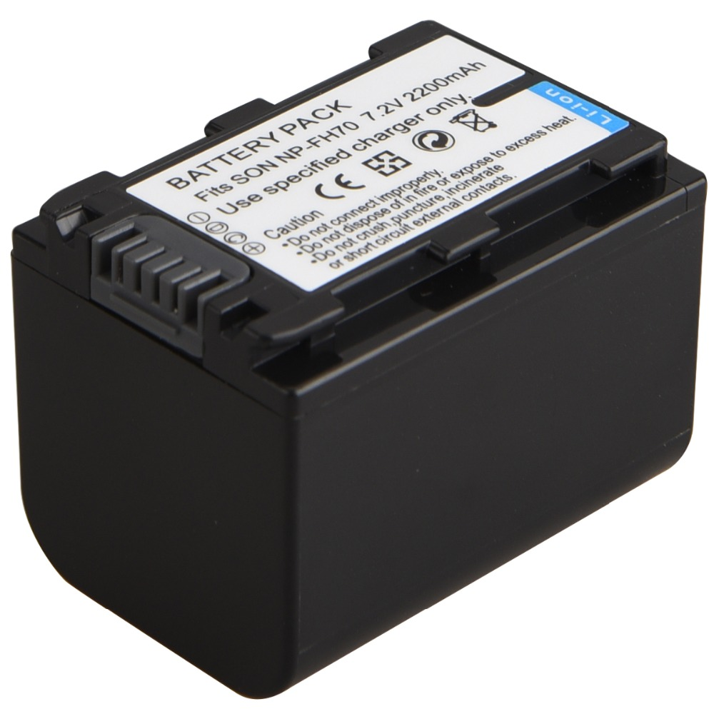 Bateria para Sony np-fh100 np-fh40 np-fh50 np-fh60 np-fh70