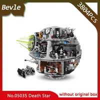 LEPIN 05035 3803Pcs Star Wars Series Death Star Machine Model Building Blocks Bricks Set Toys Compatible