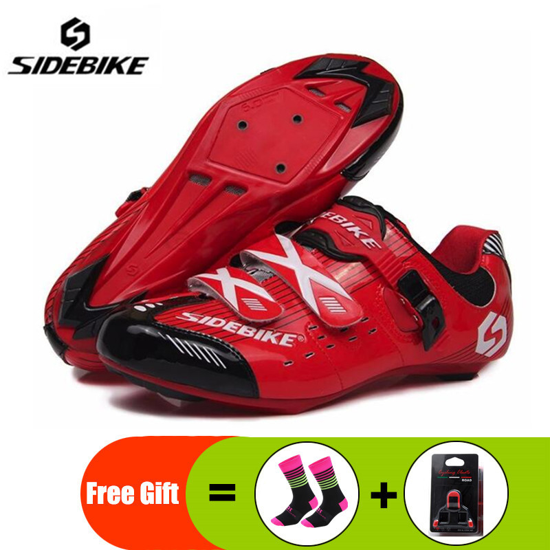 SIDEBIKE Cycling shoes Road Lightweight Breathable Men Bicycle Bike zapatillas deportivas hombre Racing Athletic Bicycle ShoesSIDEBIKE Cycling shoes Road Lightweight Breathable Men Bicycle Bike zapatillas deportivas hombre Racing Athletic Bicycle Shoes