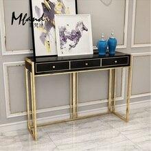 90 см высокий консольный стол/металлические ножки с Золотым Лаком/купить диван получить этот стол бесплатно
