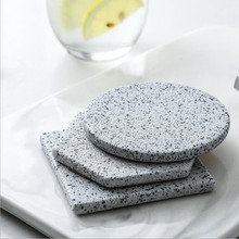 Marble Stone Grain  Ceramic Coasters Cup Pad Mat Heat Insulation Bowl Coffee Tea Drink ZAKKA 1pc