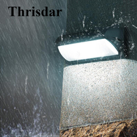 Thrisdar 10/30W Waterproof Led Wall Lamp Outdoor Balcony Stairs Engineering Villa Wall Light Courtyard Garden Porch Wall Sconces