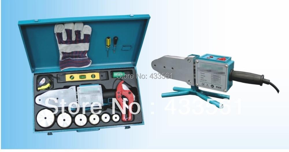 Machine de soudure portative/équipement professionnel de fusion de prise de garnitures de tuyau de HDPE dans la taille DN20-DN63 grand pour le soudage de garnitures de PP