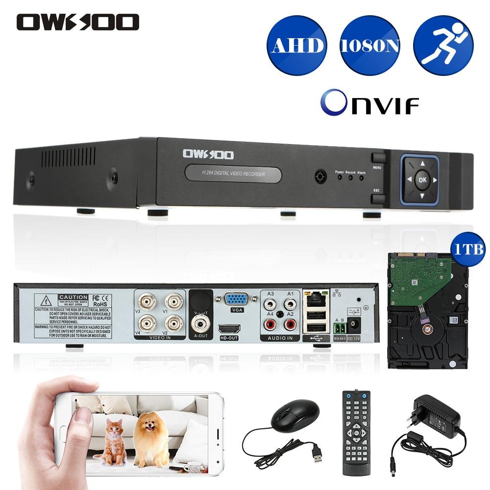 Owsoo 4ch Ahd Dvr Recorder Surveillance Video Recorder H
