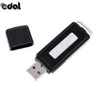 Mini 8GB USB Flash dysk cyfrowy audio dyktafon 2 w 1 70 godzin przenośny Mini nagrywanie dyktafon