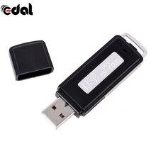 Мини 8 Гб USB флеш-накопитель диск цифровой Аудио Диктофон 2 в 1 70 часов портативный мини Запись Диктофон