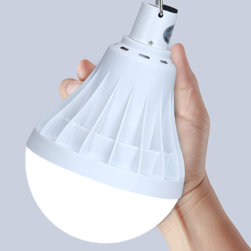 New portable rechargeable 18650 LED Bulb lamp camping lights tents home emergency lights multi-function outdoor lighting multifunction usb rechargeable portable led lamp bulb emergency lamp with switch and hook up outdoor camp climbing lighting