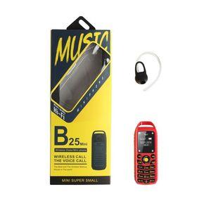 Image 5 - UNIWA B25 Unlocked Mobiele Telefoon Super Mini Kleine 2G GSM Mobiel Bluetooth Draadloze Oortelefoon Kid 380mAh Batterij Mobiele telefoon