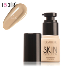 6 Color Face Eye Liquid Foundation Base Makeup Contouring Fa