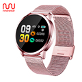 Обновленная Новинка Q8 0 95 дюймов Смарт-часы OLED цветной экран кровяное давление Пульс для Android iOS мужские и женские наручные часы