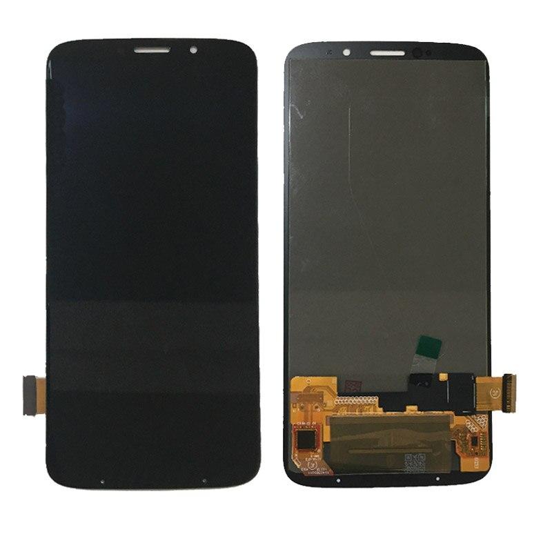 Plein LCD pour Motorola Moto Z3 jouer LCD avec écran tactile affichage assemblée noir pièces de rechange livraison gratuite