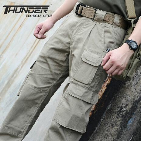 Ix10 Mens Cargo Pants Men Army Military Lightweight