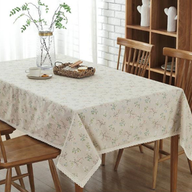 Vente Nouveau Tissu De Lin Japonais Style Rural Table A
