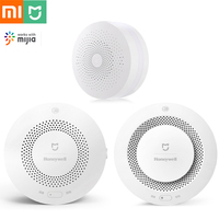 Xiaomi Home Security Kit Fire Alarm Smoke Sensor Gas Detector Mi Home APP Control Security Alarm