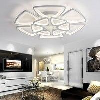 LED ceiling lamps modern minimalist flower lights modern hall bedroom living room study decorative high power lighting lamps