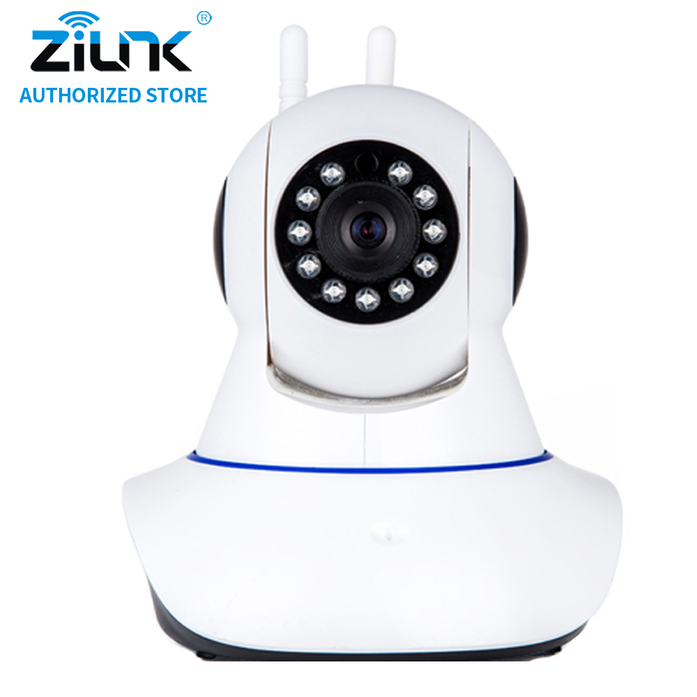 ZILNK HD 720P 2 Way Audio Night Vision Wireless IP Camera WiFi Home Security CCTV Surveillance Camera Baby Monitor Onvif White zilnk video intercom hd 720p wifi doorbell camera smart home security night vision wireless doorphone with indoor chime silver