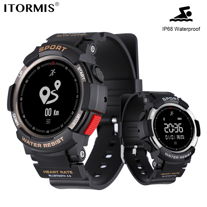 ITORMIS Bluetooth Smart Watch SmartWatch for Sport with IP68 Waterproof Heart Rate Fitness Tracker Pedometer Calorie Android IOS стоимость