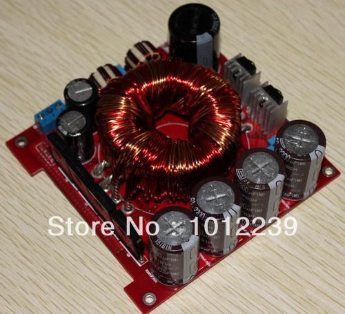 free shipping Assembled 12V boost power supply (DC12V converted to DC +-32V)