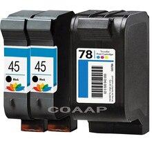 3pk многоразового hp 45 78 картриджи для HP45 HP 78 Deskjet 1180C 1280 930 930 см 932C 933C 934C 855cxi 870c 870cse 870cxi