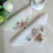 Корейские белые пряжа кружева Doily свадебные салфетки кухня ручная вышивка бусины в форме цветов коврик Подставка под кружку Рождество