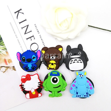Silicone socket Cartoon Phone Holder Expanding Stand Finger For Samsung Xiaomi universal phone car