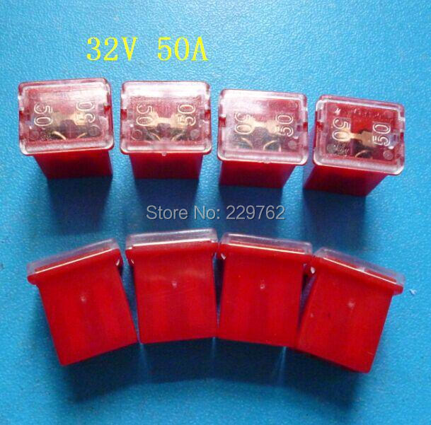 automotive fuse box connectors reviews online shopping shipping high quality 10pcs 32v 50a automotive mini fuse link auto fuse box pal pacific car link female fuse connector