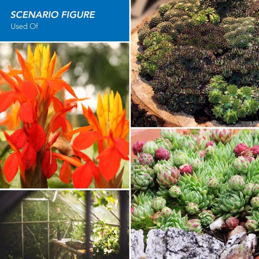 CanLing полный спектр E27 220 светодиодный Светодиодная лампа для выращивания растений 15 Вт 20 Вт Fitolampy Phyto лампа для внутреннего сада растения Цветок расти палатка