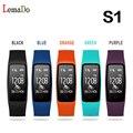 2016 Lemado S1 Bluetooth Браслет Heart Rate IP67 Водонепроницаемый Смарт-группы браслет Для android 4.3 IOS 7.0 или выше телефон PK S2