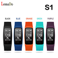2016 Lemado S1 Bluetooth Wristband Heart Rate IP67 Waterproof Smart band Bracelet For android 4.3 IOS 7.0 or above phone PK S2
